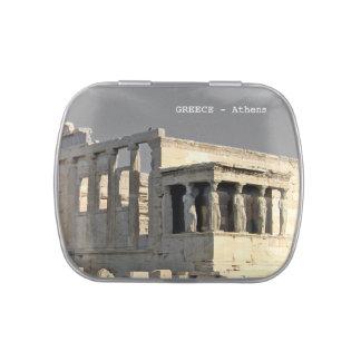 Greece - athens candy tin