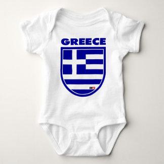 Greece Baby Bodysuit