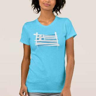 Greece Brush Flag T-Shirt