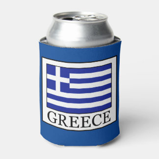 Greece Can Cooler