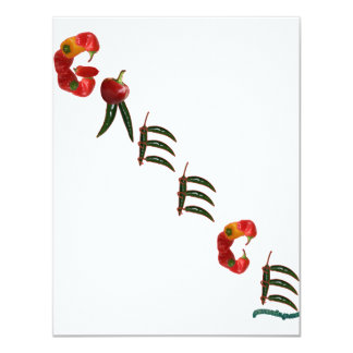 Greece Chili Peppers Card