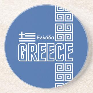 Greece coaster
