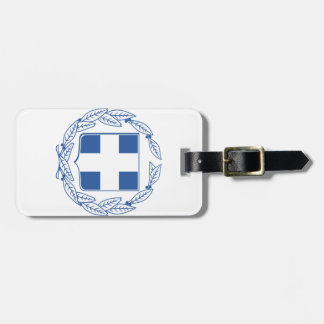 Greece Coat Of Arms Luggage Tag