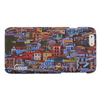 Greece colorful building beach iPhone 6 plus case