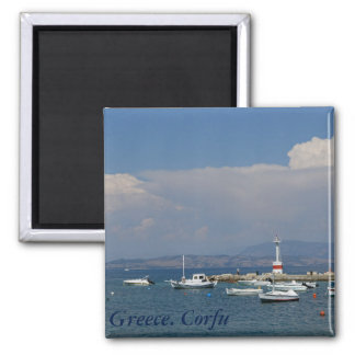 Greece, Corfu, Old Lighthouse, Magnet