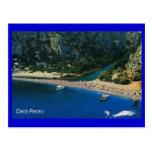 Greece, Crete, beach at Preveli, Mediterranean Post Cards