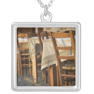 GREECE, CRETE, Hania Province, Hania: Venetian 5 Silver Plated Necklace