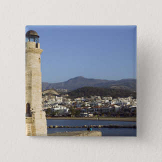 GREECE, CRETE, Rethymno Province, Rethymno: 15 Cm Square Badge
