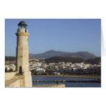 GREECE, CRETE, Rethymno Province, Rethymno: Greeting Card