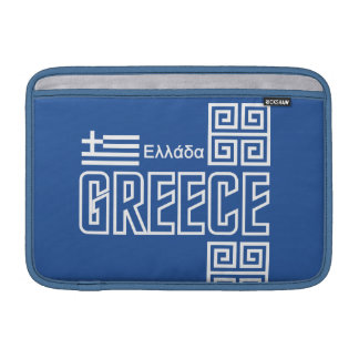 GREECE custom laptop / iPad sleeve