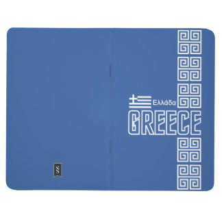 GREECE custom pocket journal