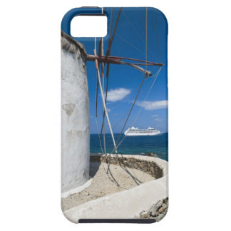 Greece, Cyclades Islands, Mykonos, Old windmill iPhone 5 Covers