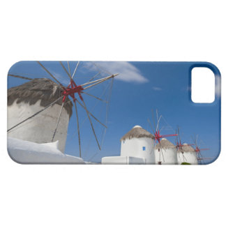 Greece, Cyclades Islands, Mykonos, Old windmills iPhone 5 Cover