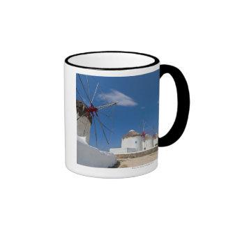 Greece, Cyclades Islands, Mykonos, Old windmills Mug