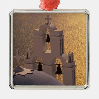 Greece Cyclades Islands Santorini Thira Christmas Ornament