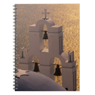 Greece, Cyclades Islands, Santorini, Thira, Notebook