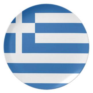 greece design plate