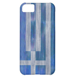 Greece distressed Greek flag iPhone 5C Case