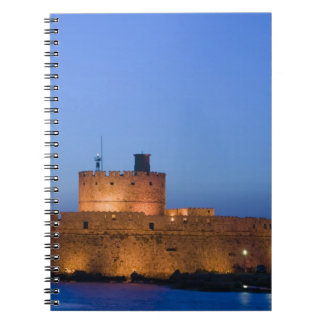 GREECE, Dodecanese Islands, RHODES, Rhodes Town: Notebook