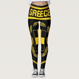 Greece Emblem Leggings