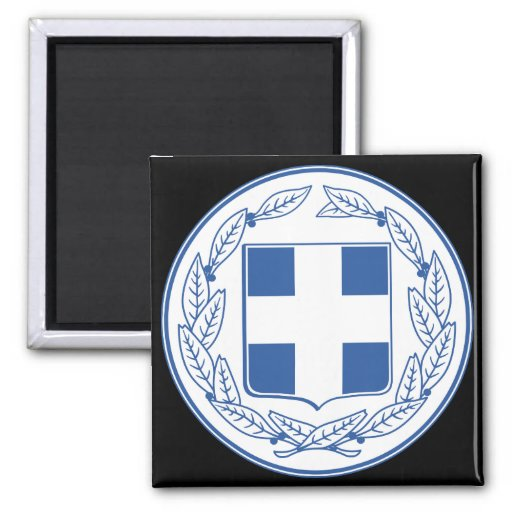 greece emblem fridge magnet
