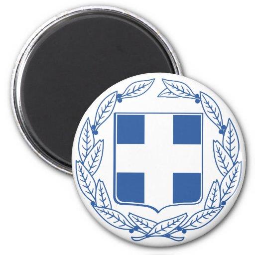 greece emblem magnet