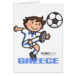 Greece - Euro 2012 Greeting Card