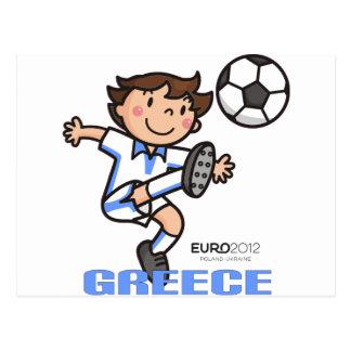 Greece - Euro 2012 Post Card