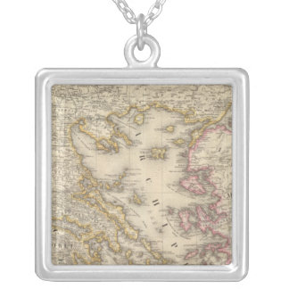Greece Europe 27 Silver Plated Necklace
