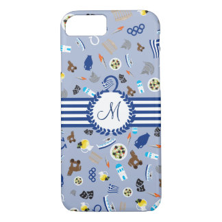 Greece: famous items of the country iPhone 7 case