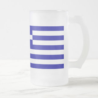 Greece Flag Coffee Mugs