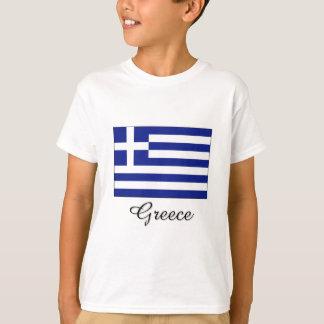 Greece Flag Design T-Shirt