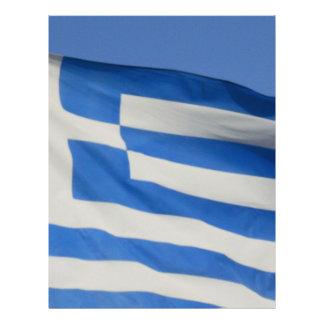 Greece Flag Custom Flyer