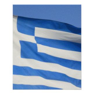 Greece Flag Flyer Design