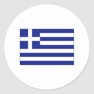 Greece FLAG International Classic Round Sticker