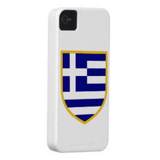 Greece Flag iPhone 4 Case