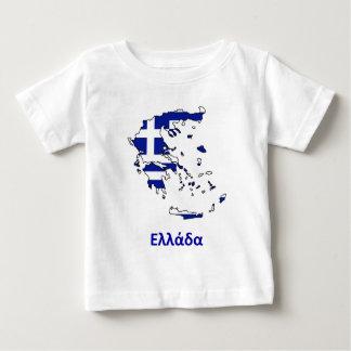 GREECE FLAG MAP BABY T-Shirt