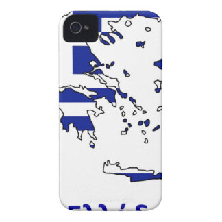 GREECE FLAG MAP iPhone 4 COVERS