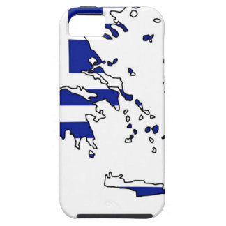 GREECE FLAG MAP TOUGH iPhone 5 CASE