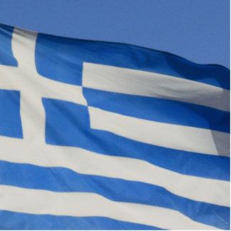 Greece Flag Photo Cutout