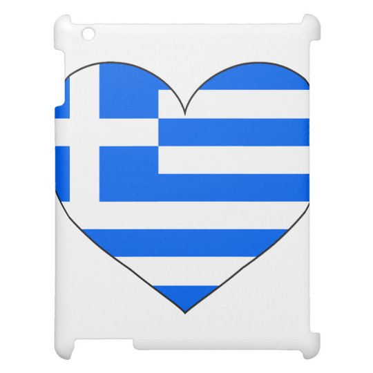 Greece Flag Simple Case For The iPad