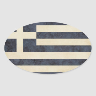 Greece Flag Stickers