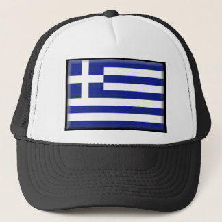Greece Flag Trucker Hat