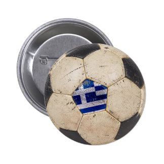Greece Football 6 Cm Round Badge