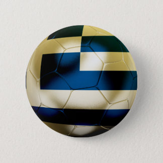 Greece Football 6 Cm Round Badge