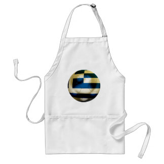 Greece Football Adult Apron