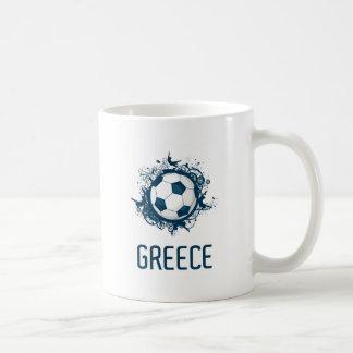 Greece Football Basic White Mug