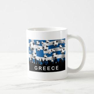 Greece Football Coffee Mug