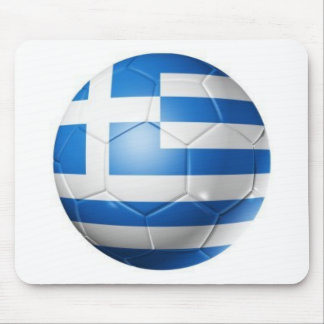 GREECE FOOTBALL FLAG MOUSE PAD