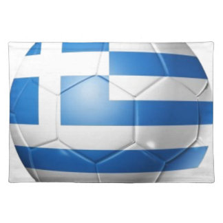 GREECE FOOTBALL FLAG PLACEMAT